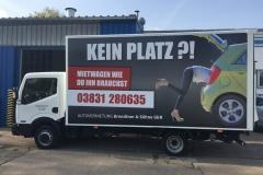 Druck & Fahrzeug-Beklebung für Autovermietung Brendtner & Söhne GbR