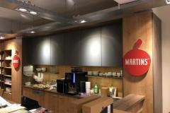 Gestaltung, Produktion & Montage von Schildern jeder Art (hier Martins Bio Markt)